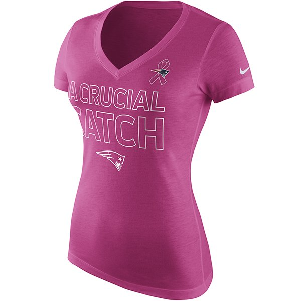 Ladies Nike BCA Triblend Tee-Pink