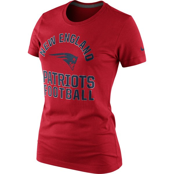Ladies Nike Hometown Tee-Red
