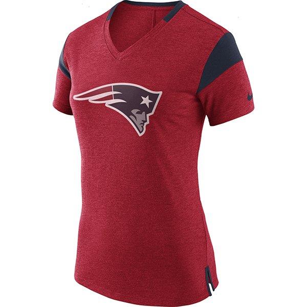 Ladies 2017 Nike Fan Top-Red