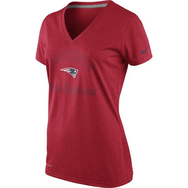 Ladies Nike Football Legend Tee-Red