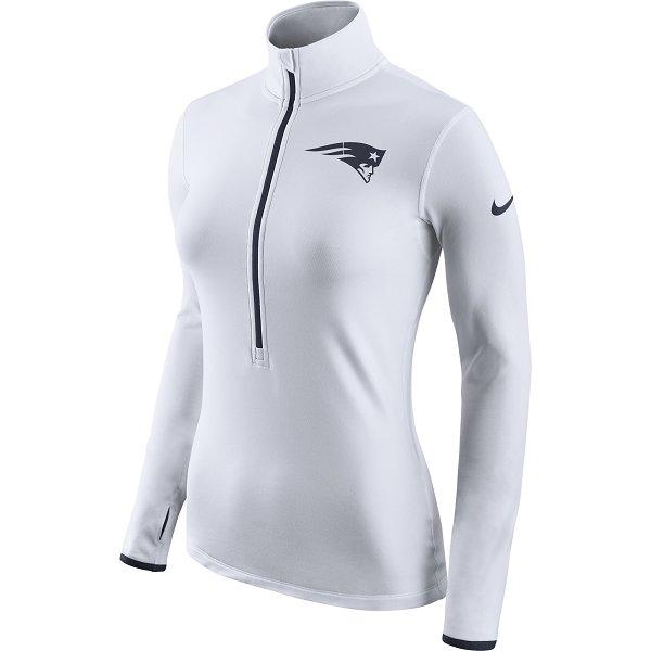 Ladies Nike Hyperwarm Jacket-White