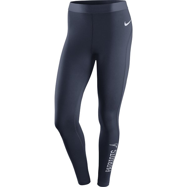 Ladies Nike Hyperwarm Tights-Navy