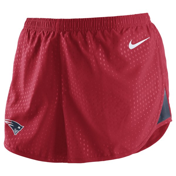Ladies Nike Stadium Tempo Shorts-Red