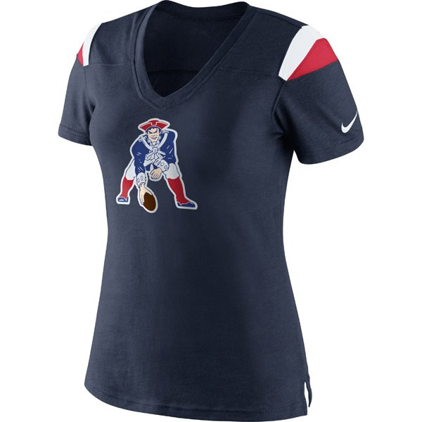 Ladies Nike Throwback Fashion V-Neck Top