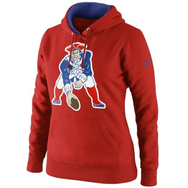 Ladies Nike Throwback Tailgater Hood-Red
