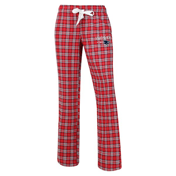 Ladies Ovation Flannel Pant-Red
