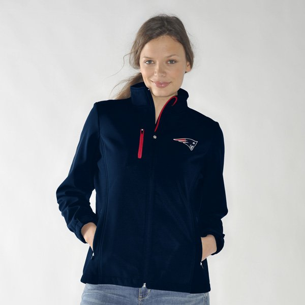 Ladies Patriots Play 60 Full Zip Jacket-Navy