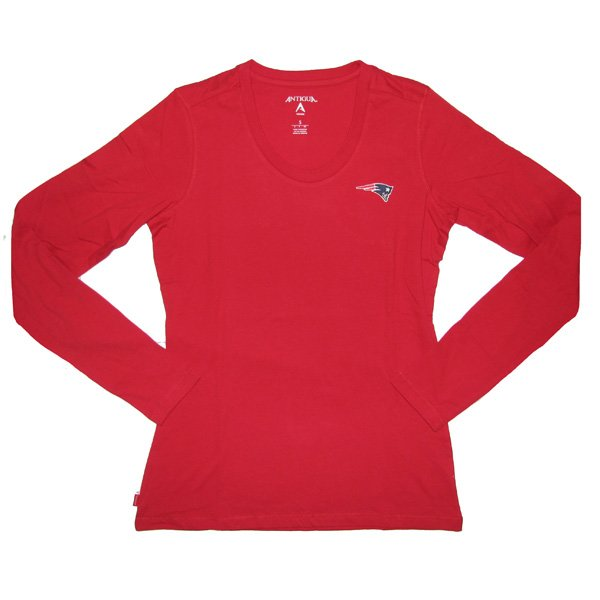 Ladies Relax L/S Tee-Red