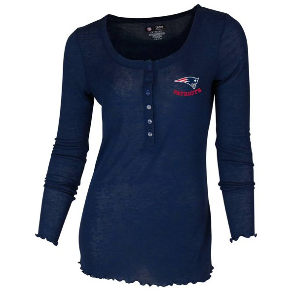 Ladies Revelation Long Sleeve Henley