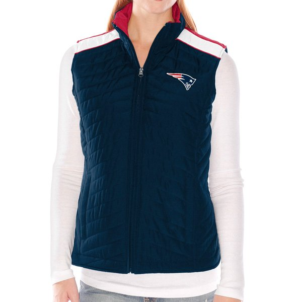 Ladies Rundown Full Zip Vest-Navy