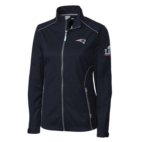 Ladies Super Bowl LI Opening Day Jacket-Navy