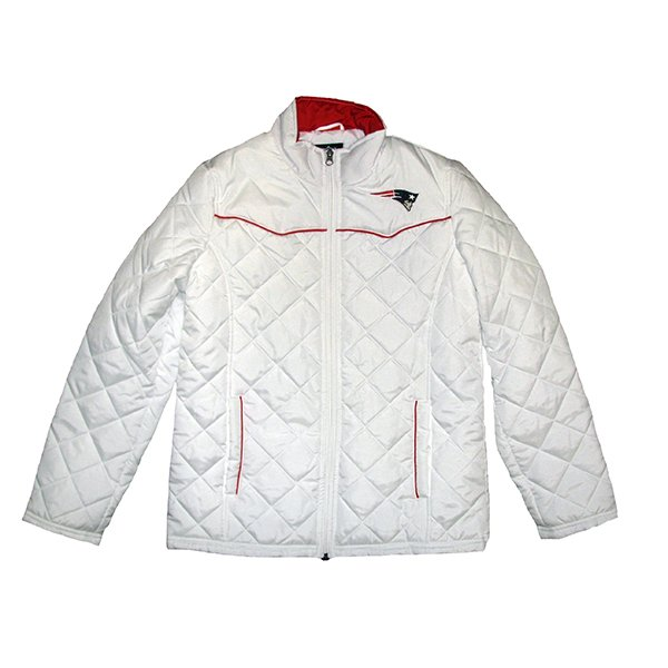 Ladies Spectator Quilt Jacket-White