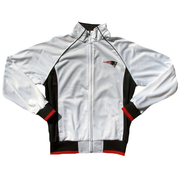 Ladies Sprint Full Zip Track Jacket-White