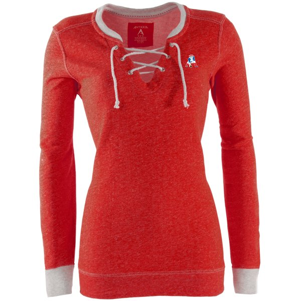 Ladies Throwback Laceup Rally-Red/Gray