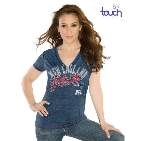 Ladies Touch Kickstart Tee-Navy
