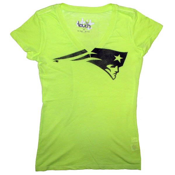 Ladies Touch Look At Me Tee-Neon
