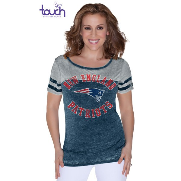 Ladies Touch Morgan Tee-Navy