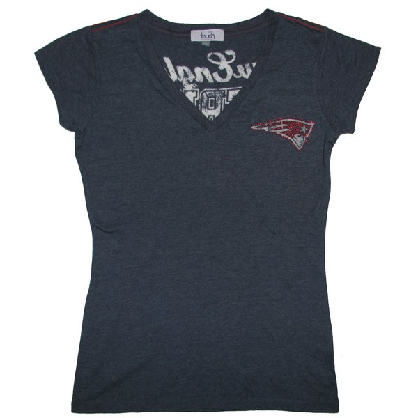 Ladies Touch Outfield Tee-Navy