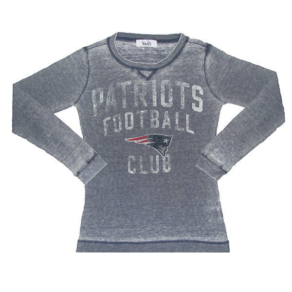 Ladies Touch Red Zone Thermal Top-Navy