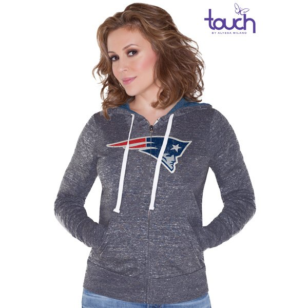 Ladies Touch Teagan Hood-Gray
