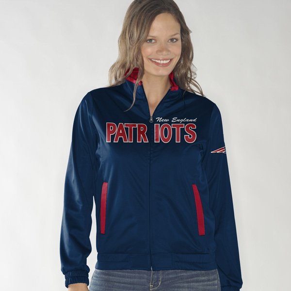 Ladies Training Camp Track Jacket-Navy