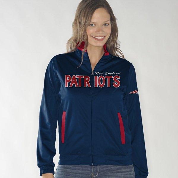 Ladies Training Camp Track Jacket-Navy