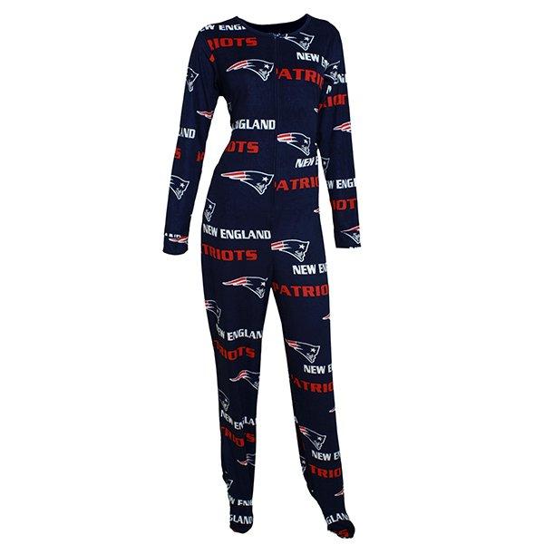 Ladies Patriots Facade Union Suit-Navy