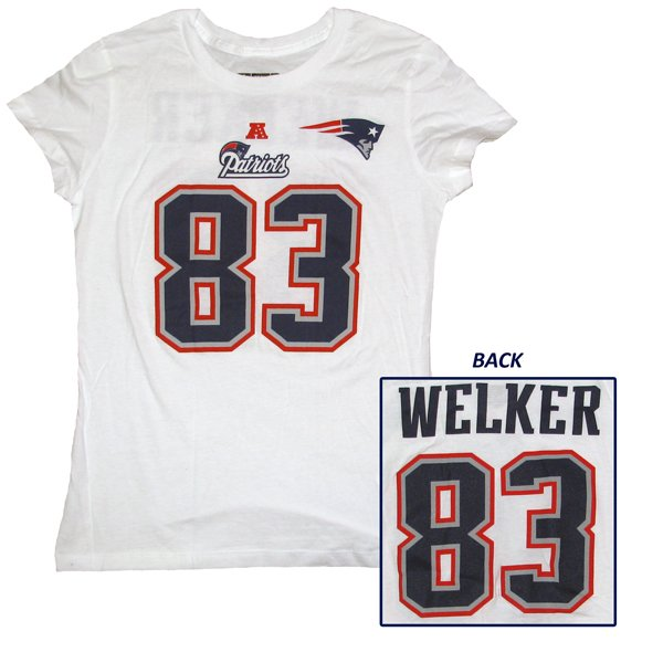 VF Ladies Welker Name and Number Tee - White