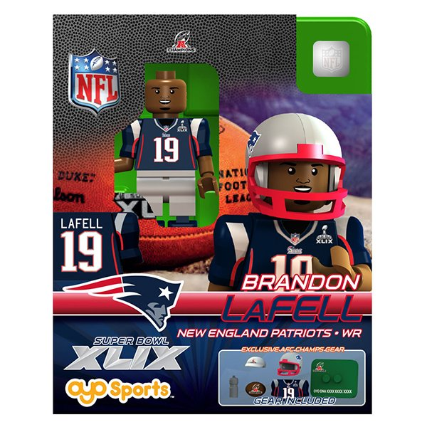 Superbowl XLIX Champion Brandon LaFell Oyo Figure