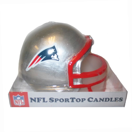 Pats Large Helmet Candle