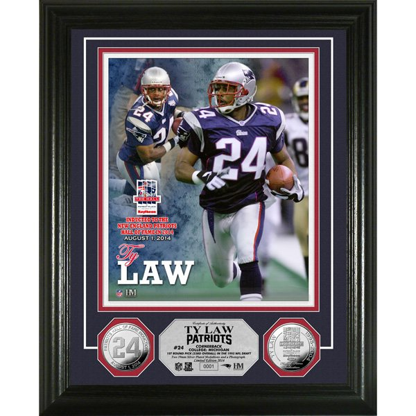 Ty Law Hall of Fame Induction Photomint
