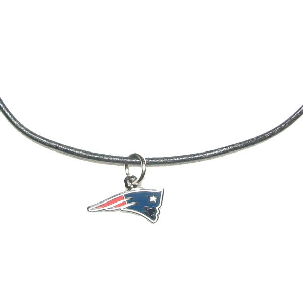 Patriots Leather Cord Necklace