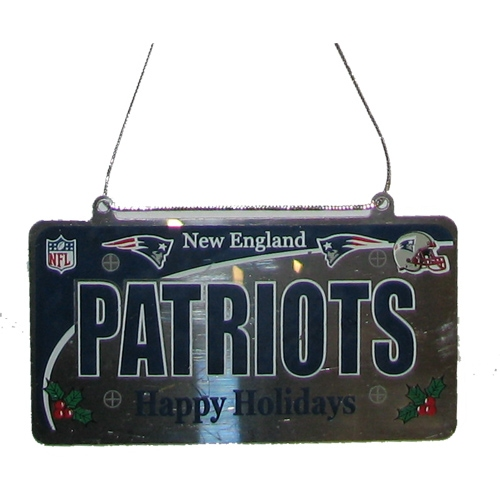 License Plate Ornament