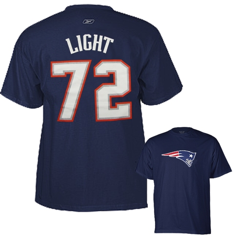 Matt Light Name/Number Tee