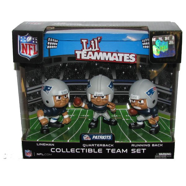 Patriots Lil Teammates-3pk