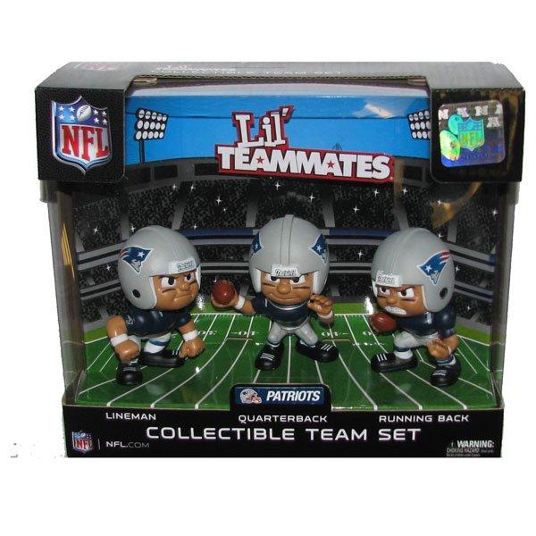 Patriots Lil Teammates-3pk