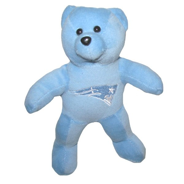 Tonal Plush Bear - Lite Blue