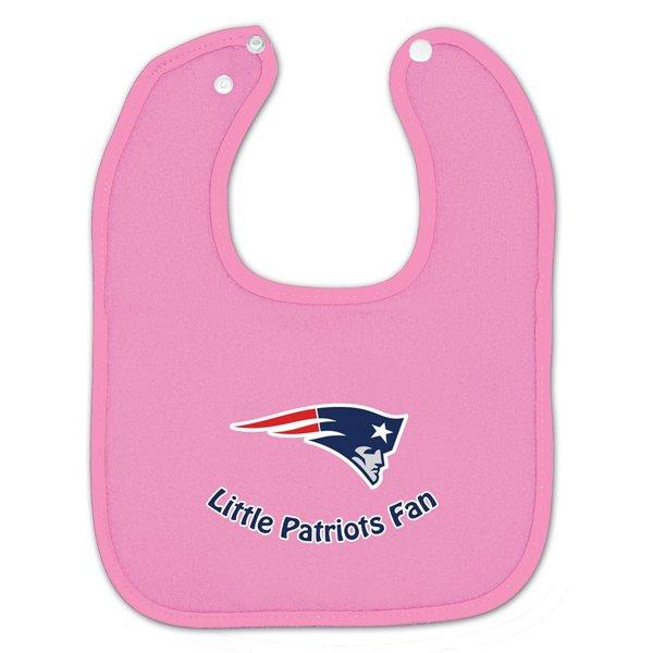 Little Pats Fan Bib-Pink