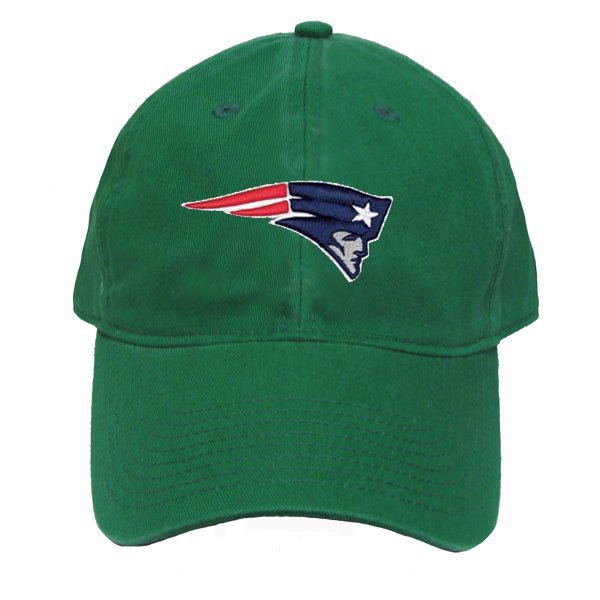 Patriots Logo Green Slouch Cap