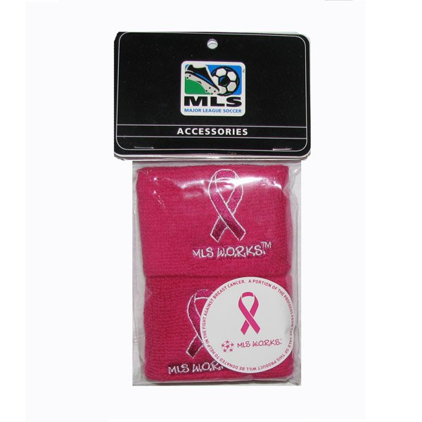 MLS BCA Wristbands-Pink