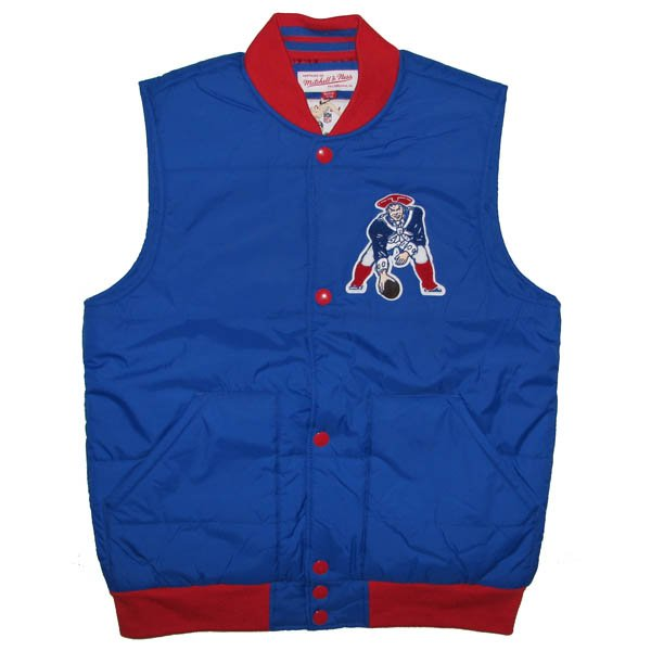 M+N Throwback Free Agent Vest-Royal