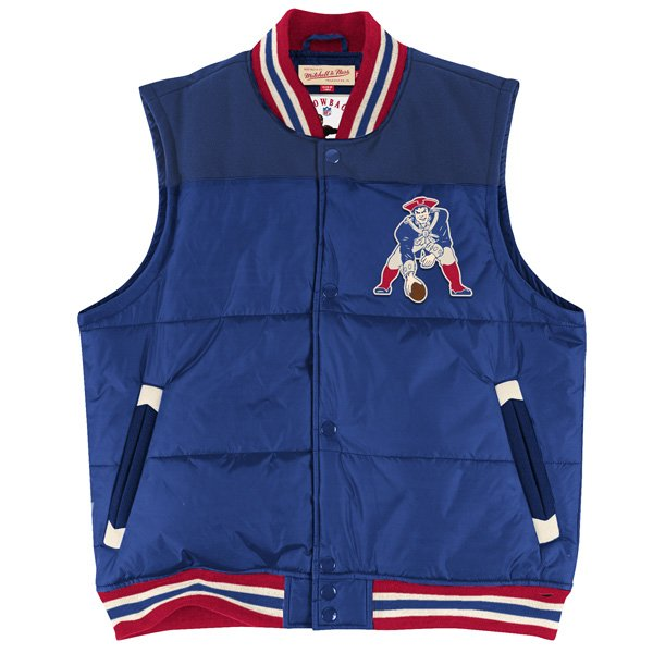 M+N Throwback Title Holder Vest-Royal