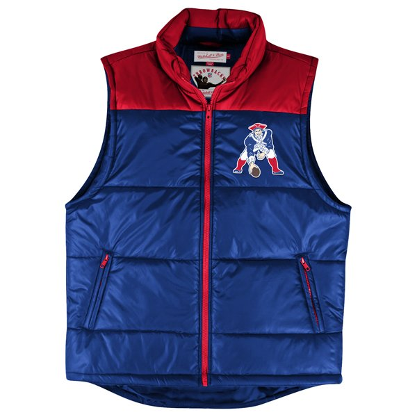 M+N Throwback Winning Team Vest-Royal