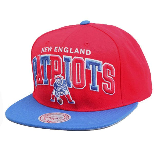 M+N Throwback Tri-Pop Snapback Cap