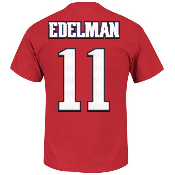 Edelman #11 Throwback Name and Number Tee