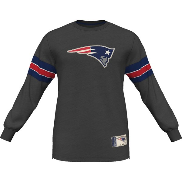 Majestic Team Spotlight Long Sleeve Top-Charcoal
