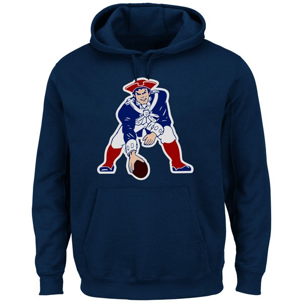 Majestic Throwback Critical Victory Hood-Navy