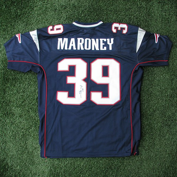 Laurence Maroney Signed Authentic Jersey