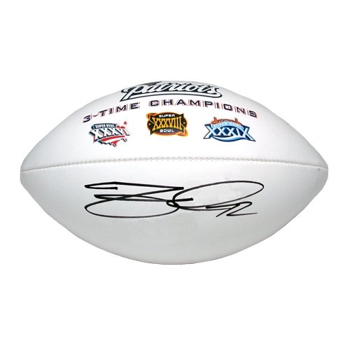 Matt Light Autographed Football 
