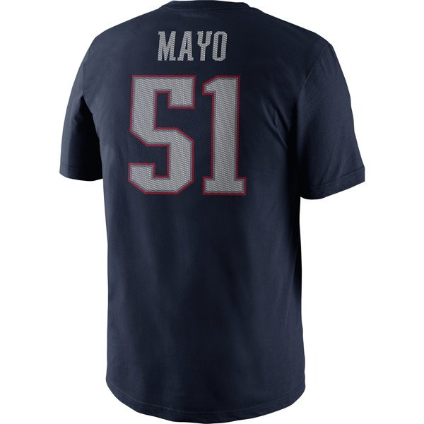 2013 Nike Mayo Name and Number Tee